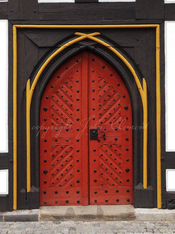 German Red Door