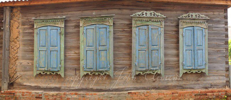 Saratov Blue Shutters