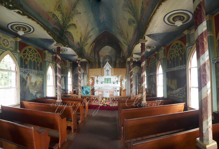 Hawaiian Painted Chapel