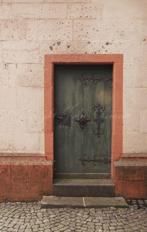 Church Back Door