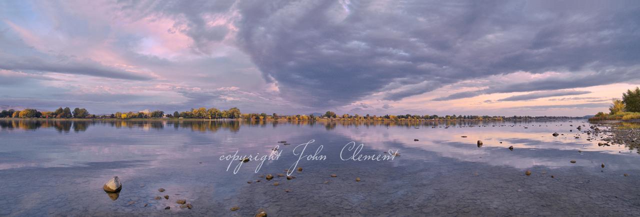 Sunrise Reflections Columbia River