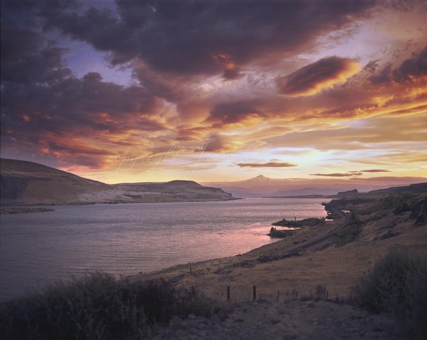 Columbia Gorge Sunset