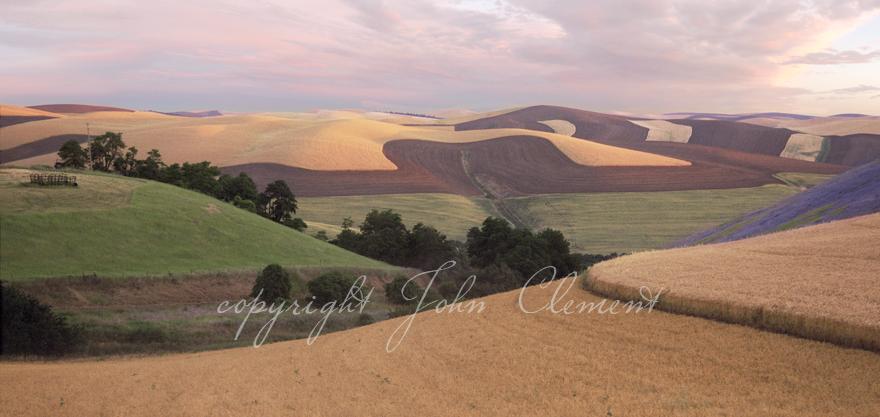 Dixie Hills Twilight Panorama