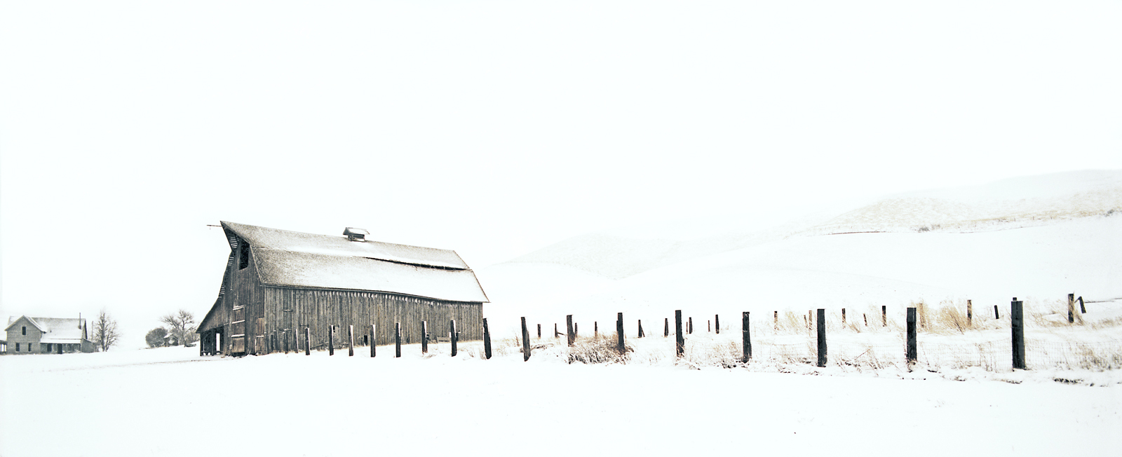 Dayton Barn Winter