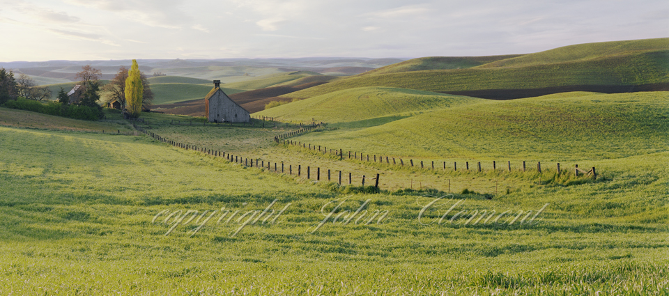Palouse Country Barn Spring