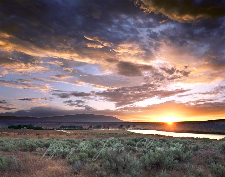 Rattlesnake Mtn. Sunset