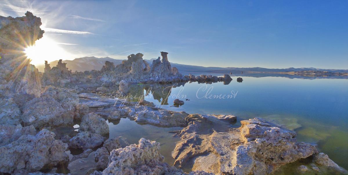Tufa Twilight Mono Lake Ca.