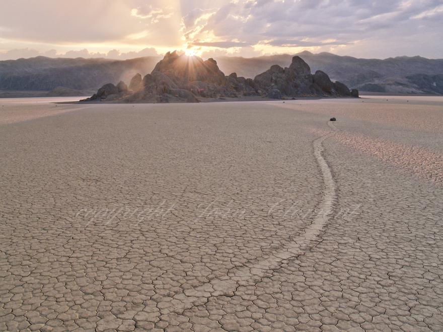 Race Track Sunrise Death Valley CA.