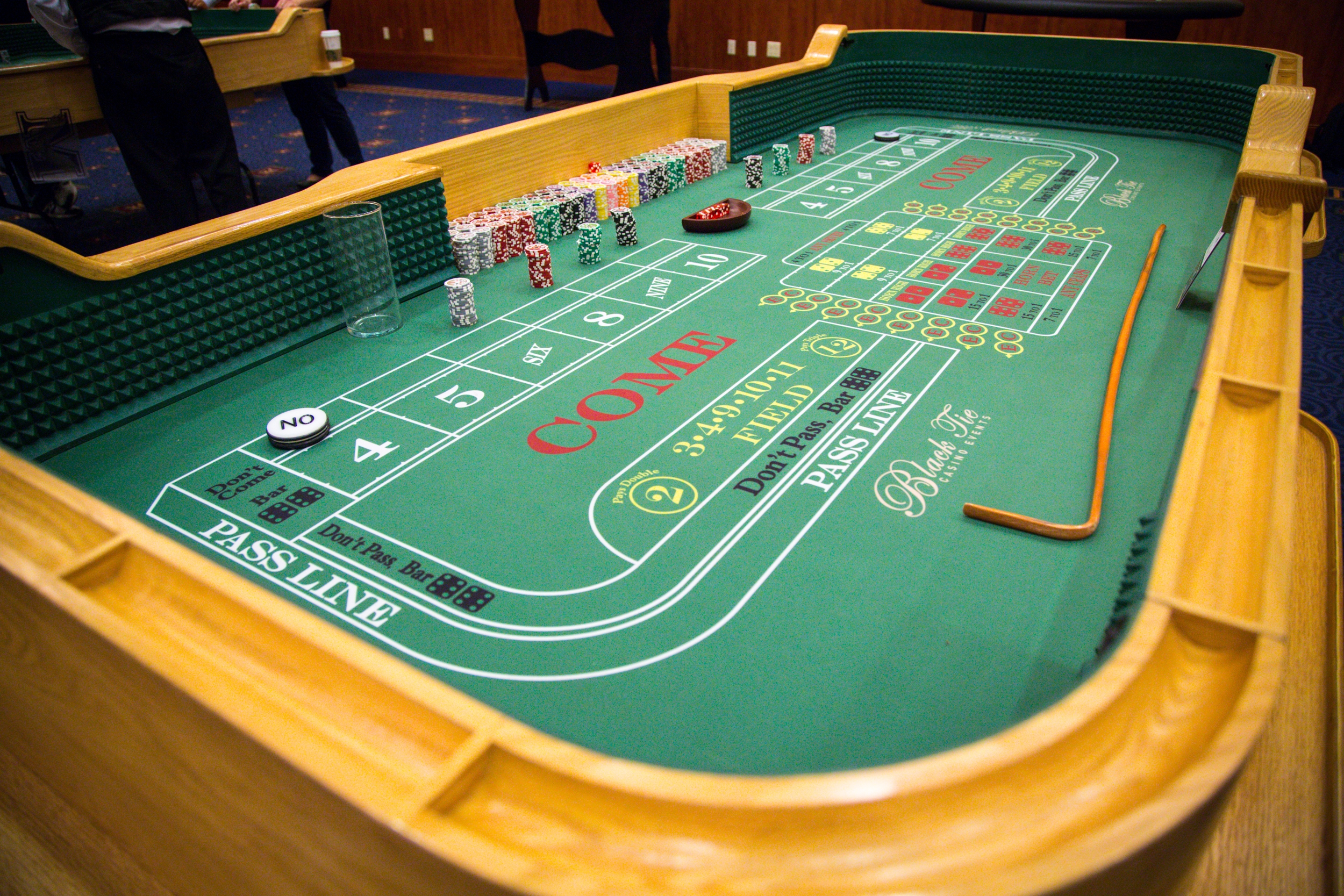 Craps table large
