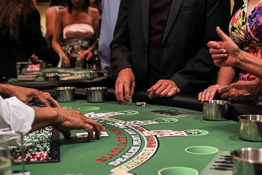 corporate casino event