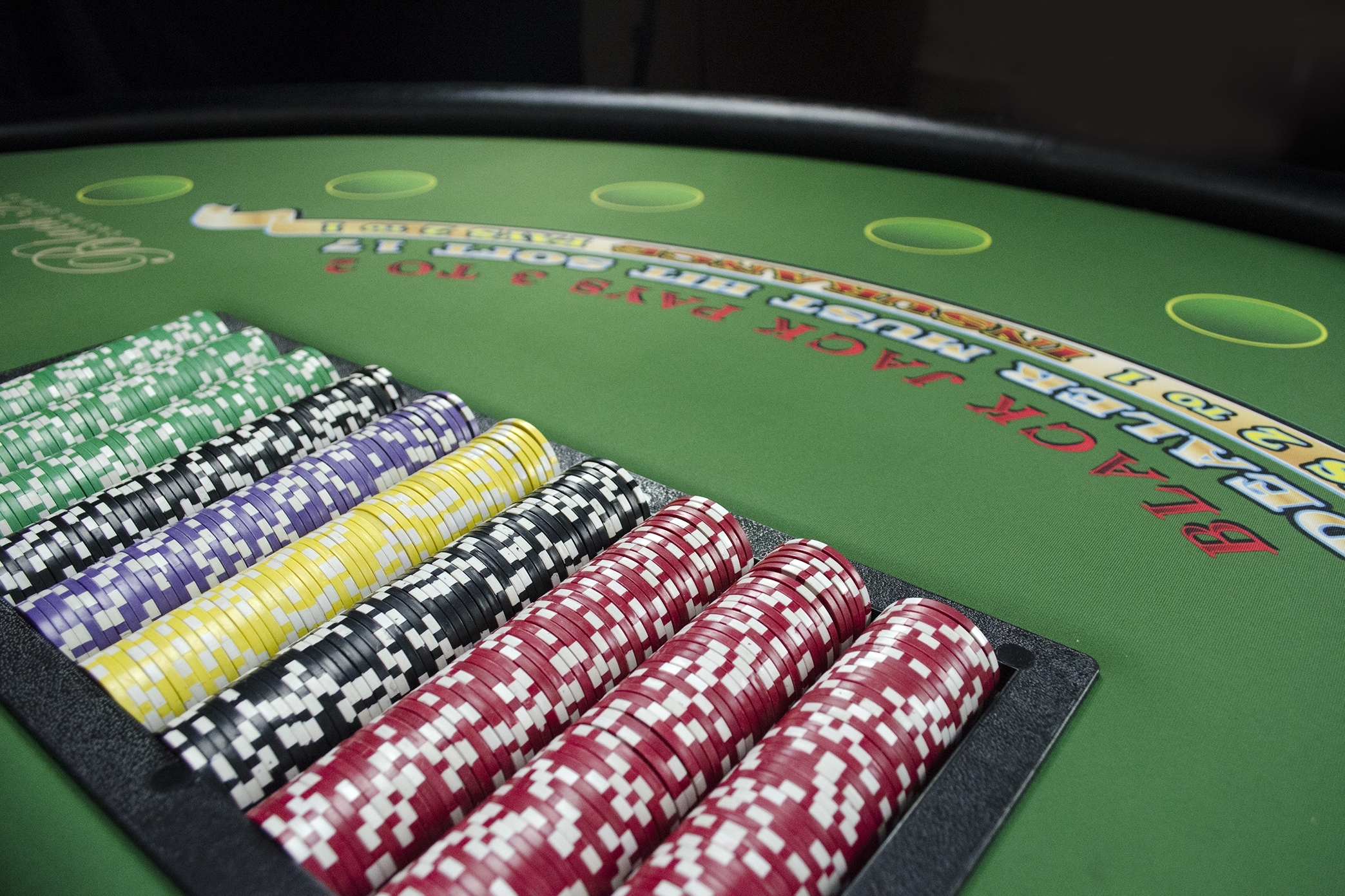 black jack table 2
