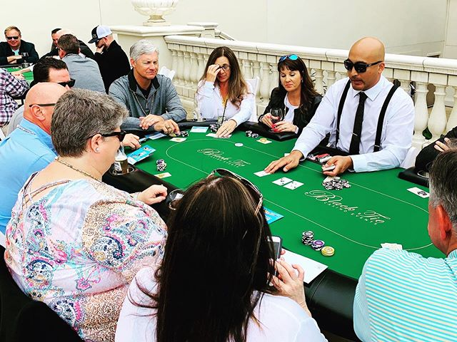 This week's #poker tournament at the @monarchbresort in beautiful Dana Point. . . . . . . . . . . . #sdevents #sandiegopartydecor #sdweddingplanner #sandiegoeventscompany #sandiegoeventcoordinator #casinoevents #sdcasinorental