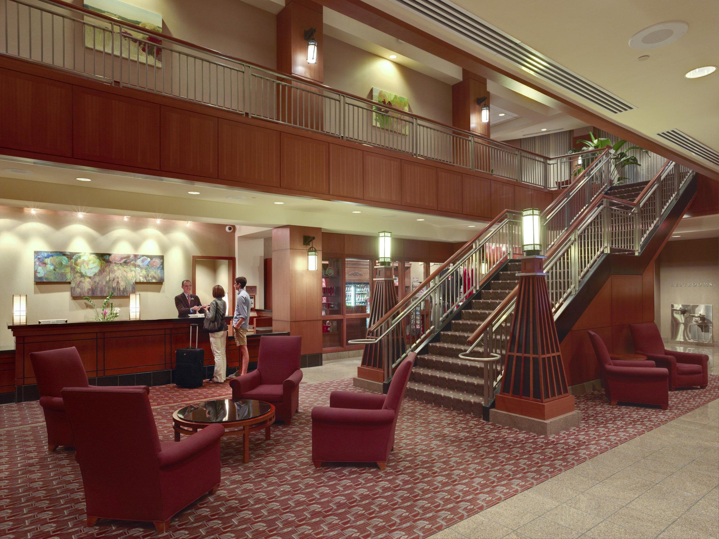 Blackwell Lobby Stairs.JPG