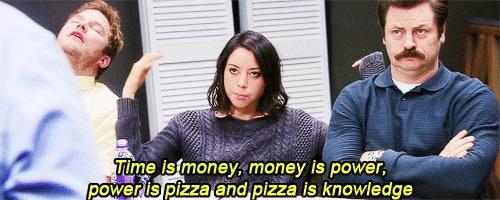 I am a long-time fan of pizza!