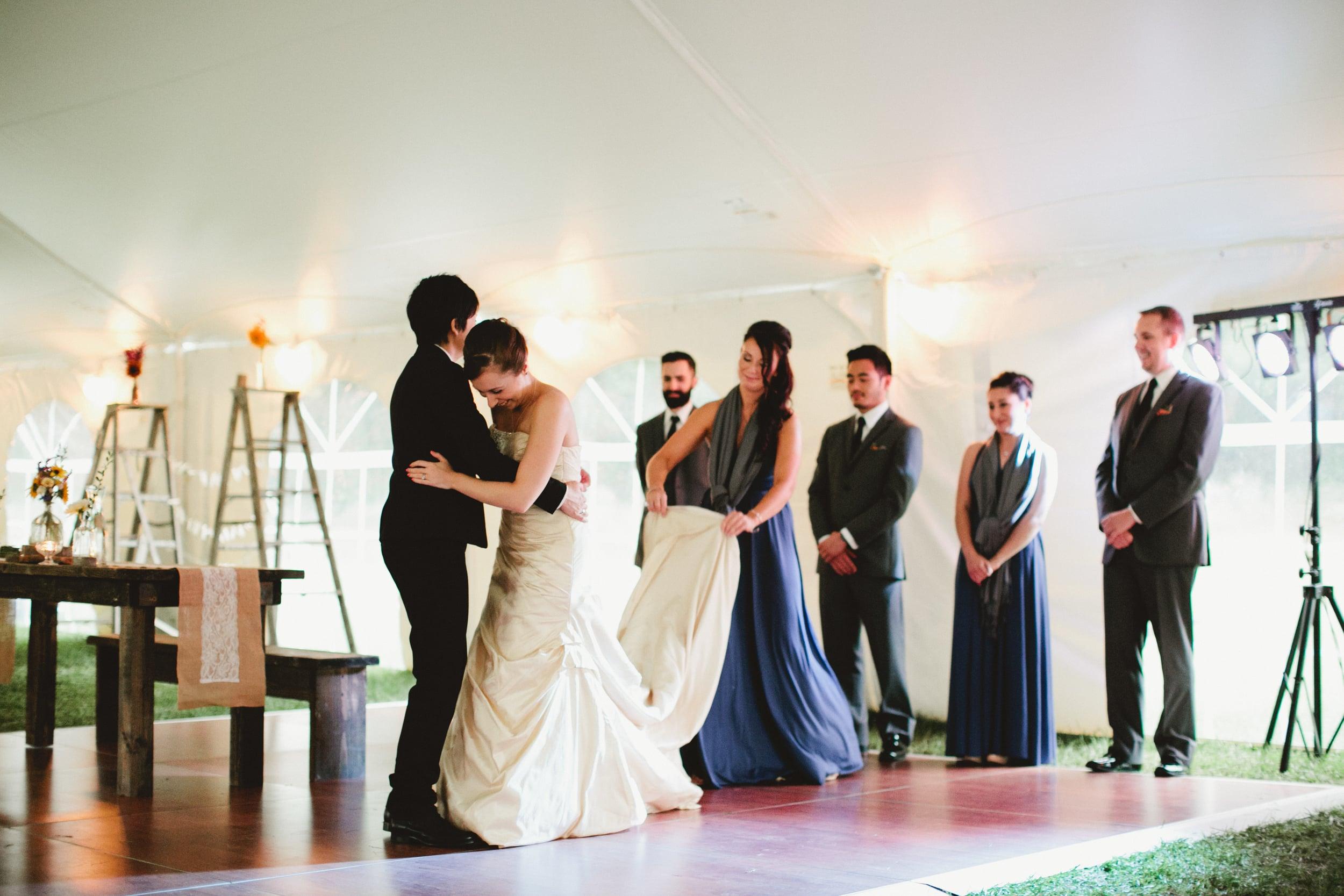 Friendly Crossways New England Same-Sex Farm Wedding Photography