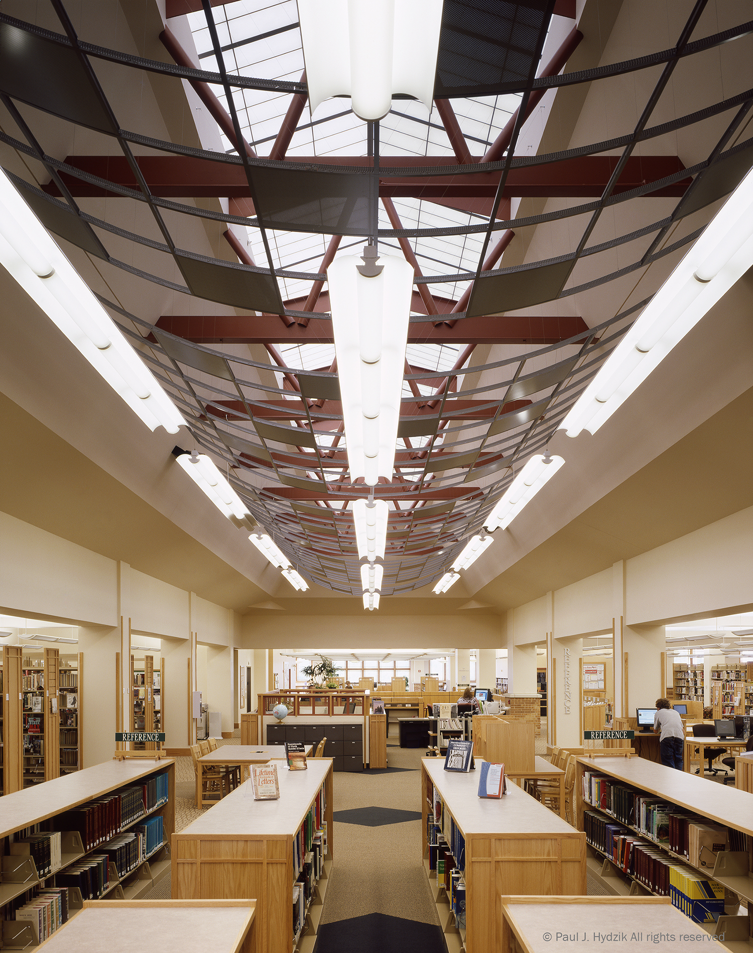Library Central Axis