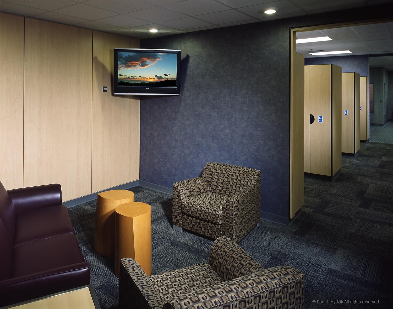 Recreation Center Locker Room