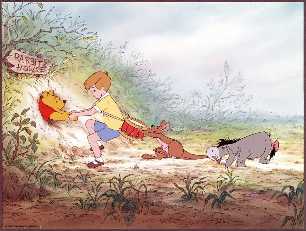 Gotta be 1975 - Also, does anyone else feel strongly that this whole segment with Pooh getting
