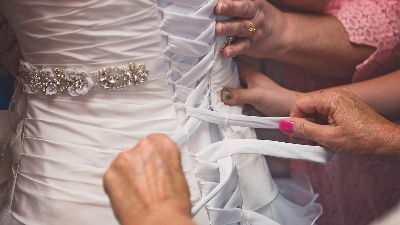 Corset wedding dress, Springfield, MO