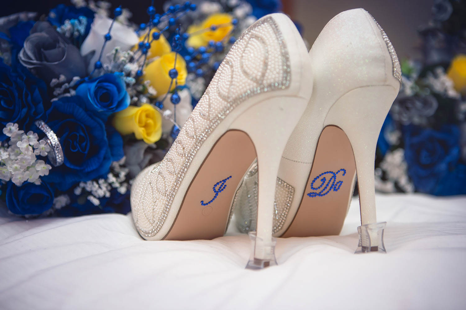 Wedding shoes say it all!