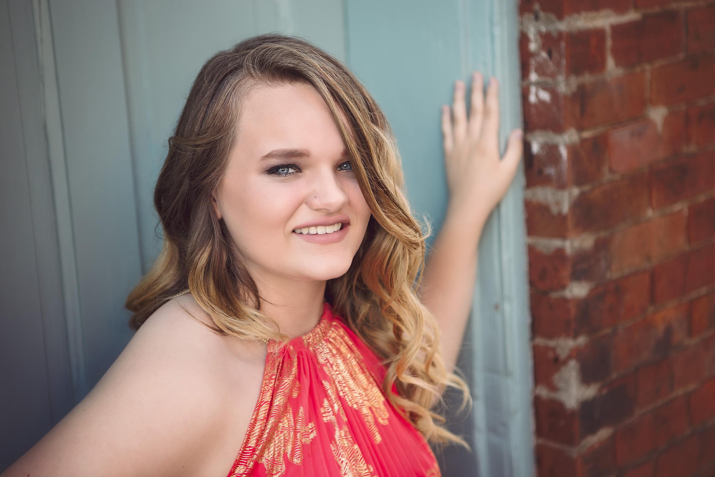 High School Senior Photography - Alyce