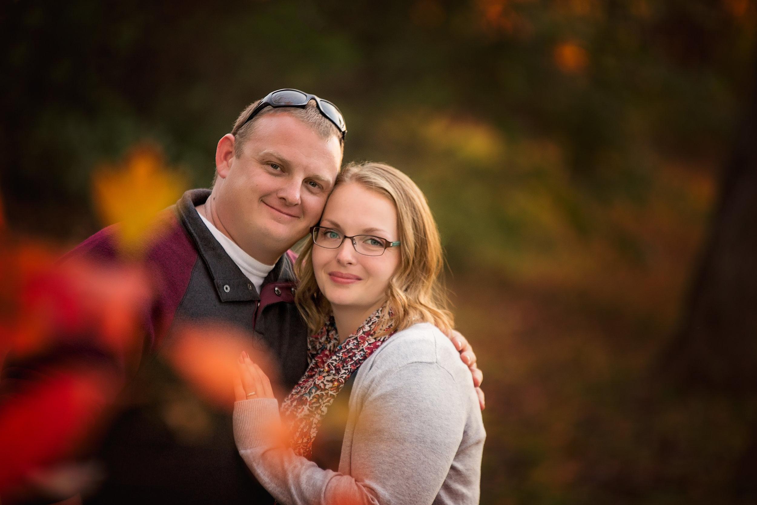 Fall Couple's Photos