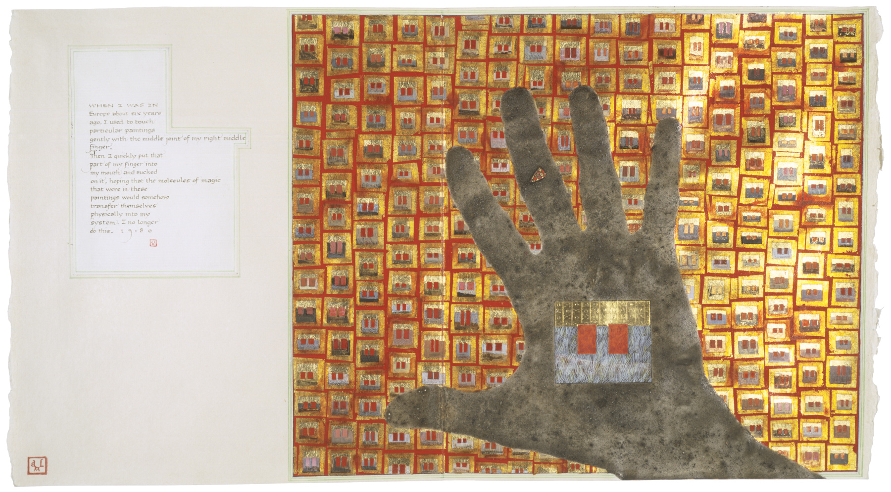 Beyond Words: Three Contemporary Artists and the Manuscript Tradition- Museum of Contemporary Religious Art (MOCRA)