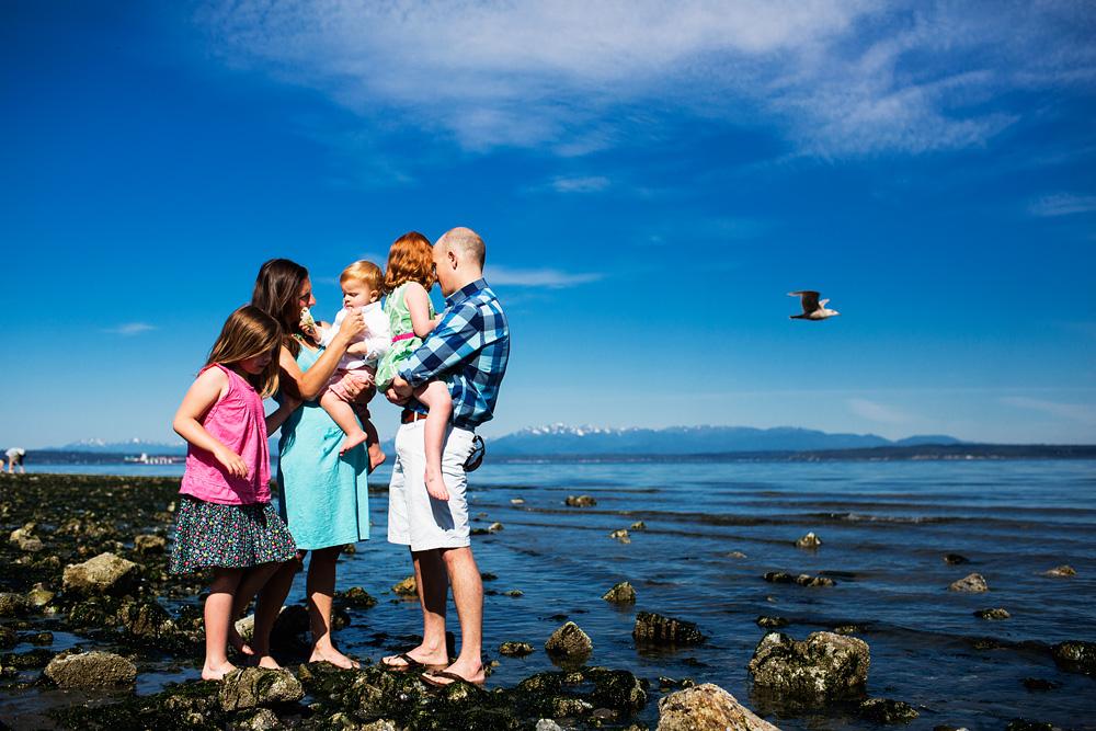 Seattle Beach Photography Location