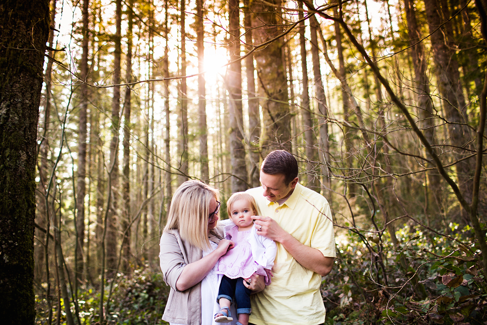 Seattle Family Photography Forrest Location