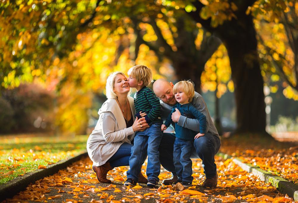 Seattle Fall Family Photos