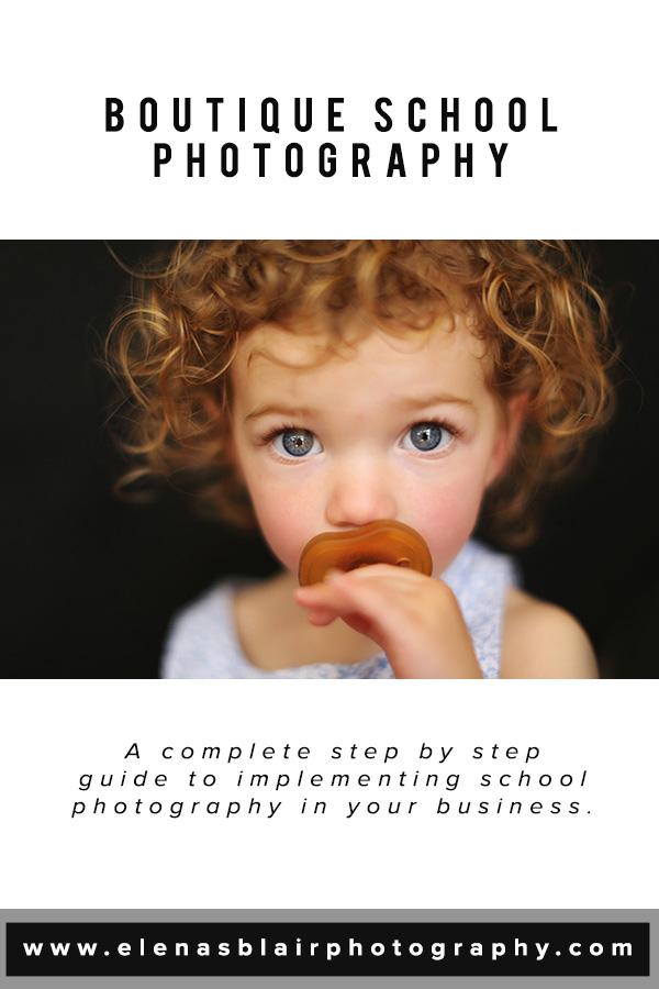 Online Course Boutique School Photography Elena S Blair