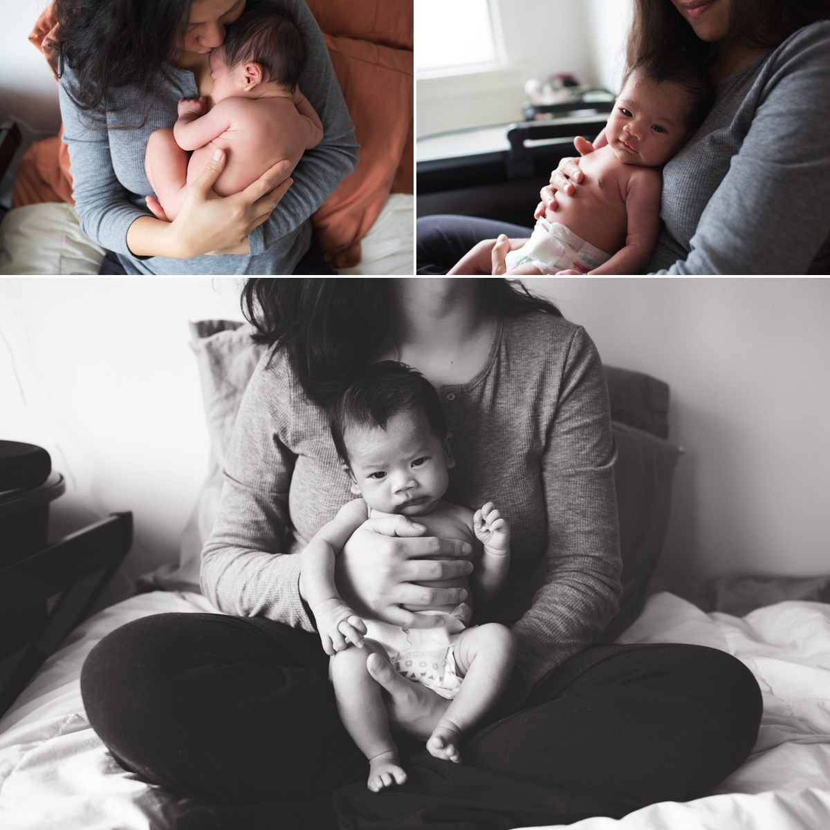 elena s blair seattle newborn baby family photographer at home