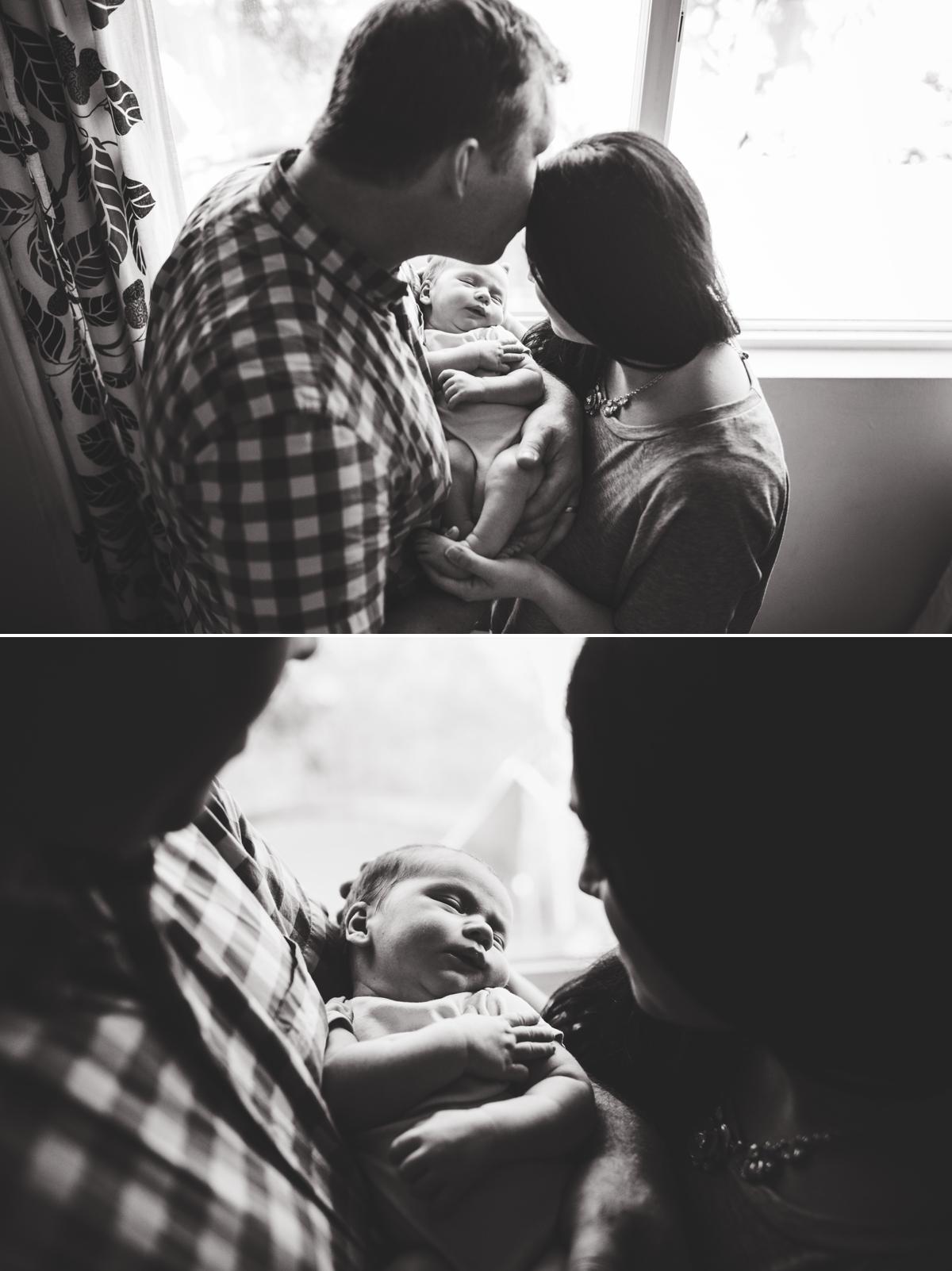 Natural Light Newborn Photographer Seattle