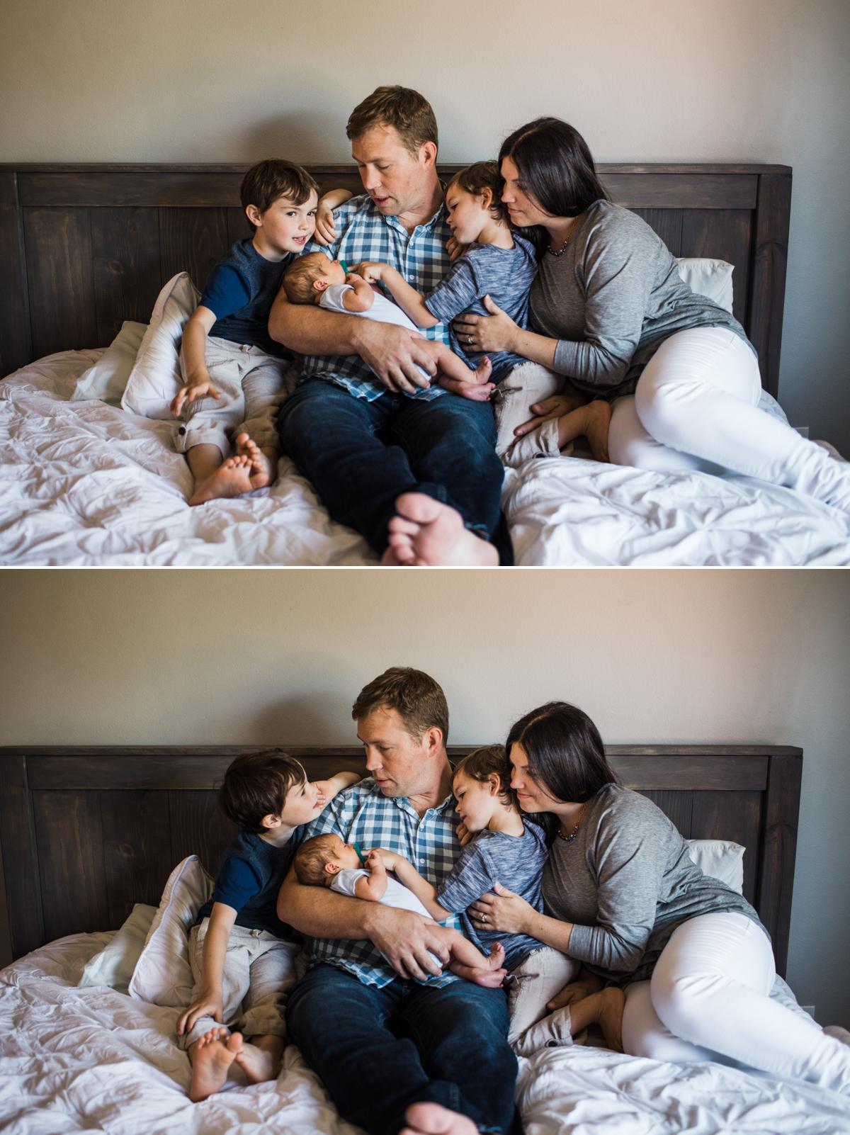 Unposed Newborn Photography