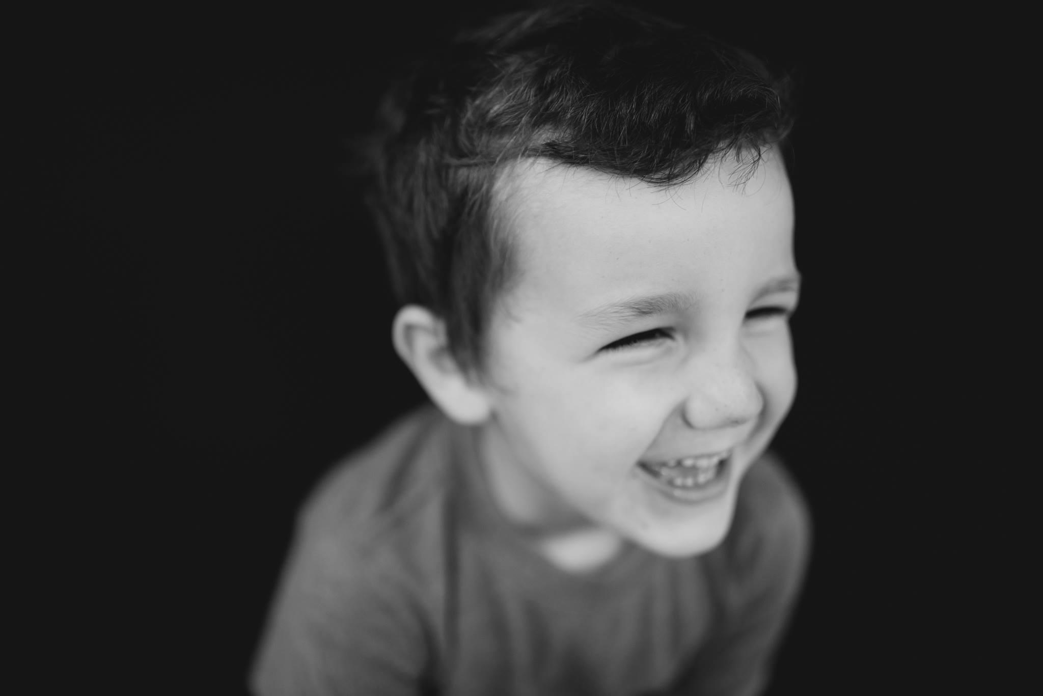 black and white fine art school child portrait photography class meg miller