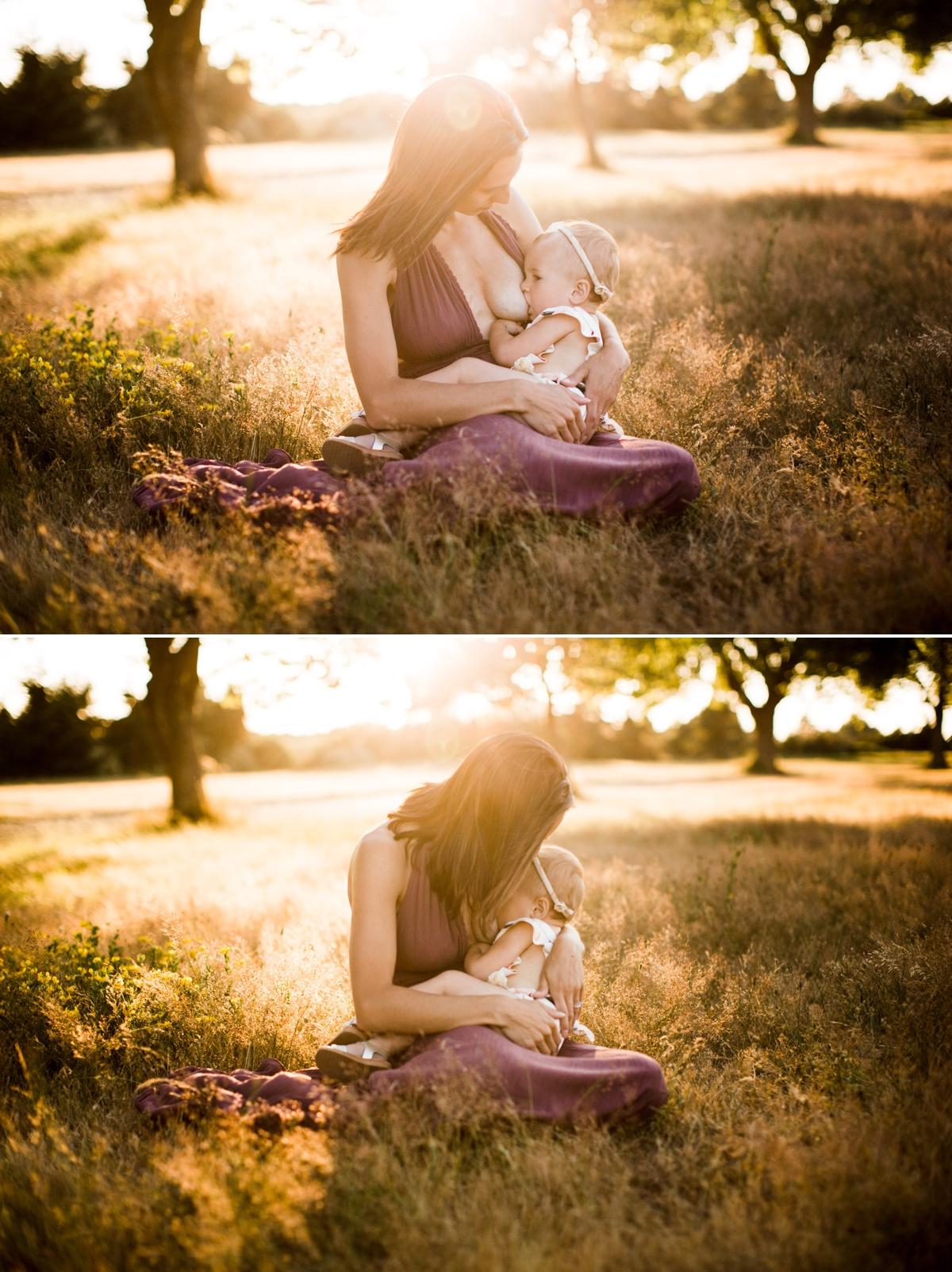 Seattle Breast Feeding Photographer Elena S Blair