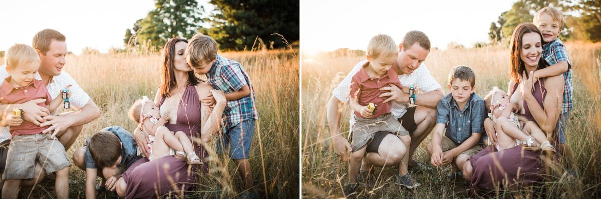 Breast Feeding Photography