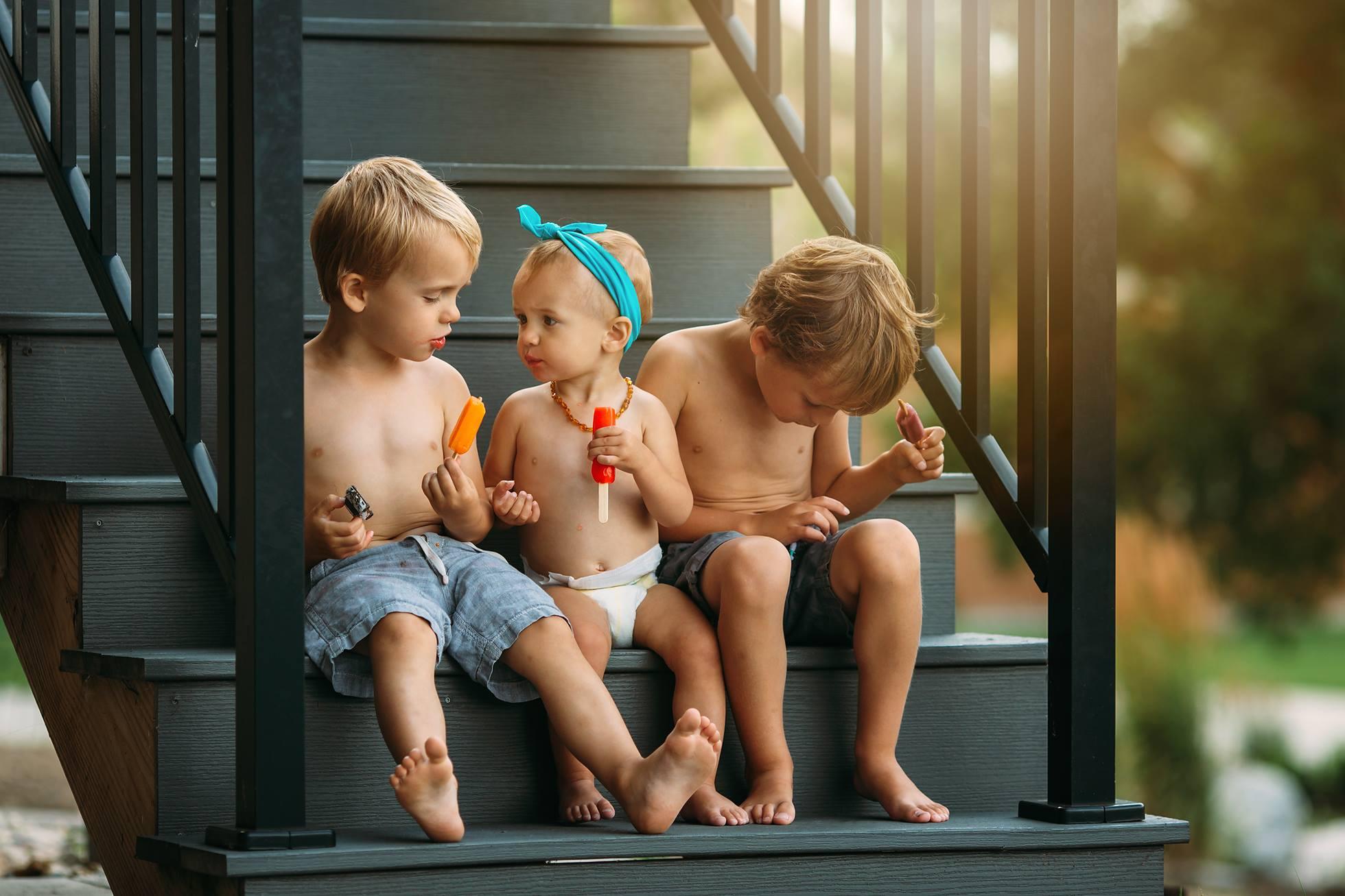 family children summer photography workshop amber walder
