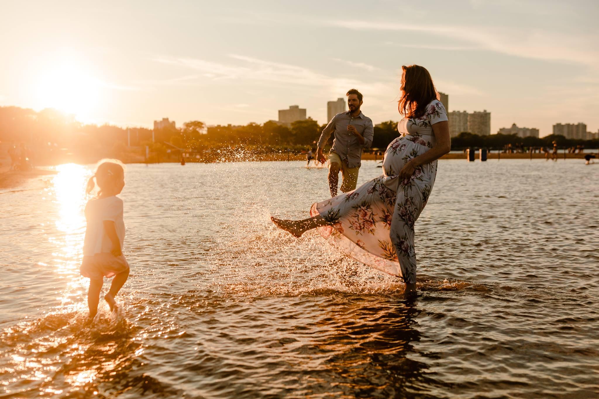 family pose workshop sunset maternity beach jenny grimm photography