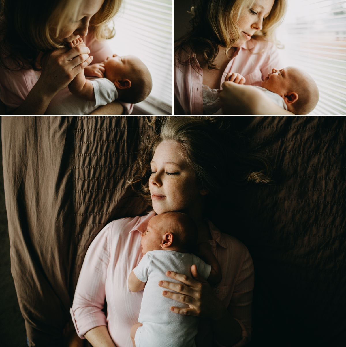 elena blair seattle newborn photography baby daniel and family at home