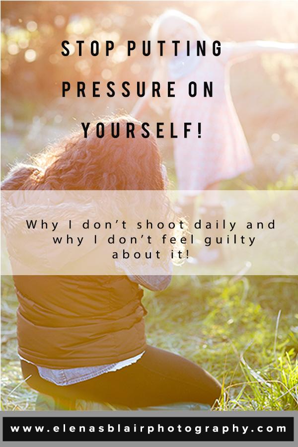 Photography project advice. Photography tips & Education. Elena S Blair.