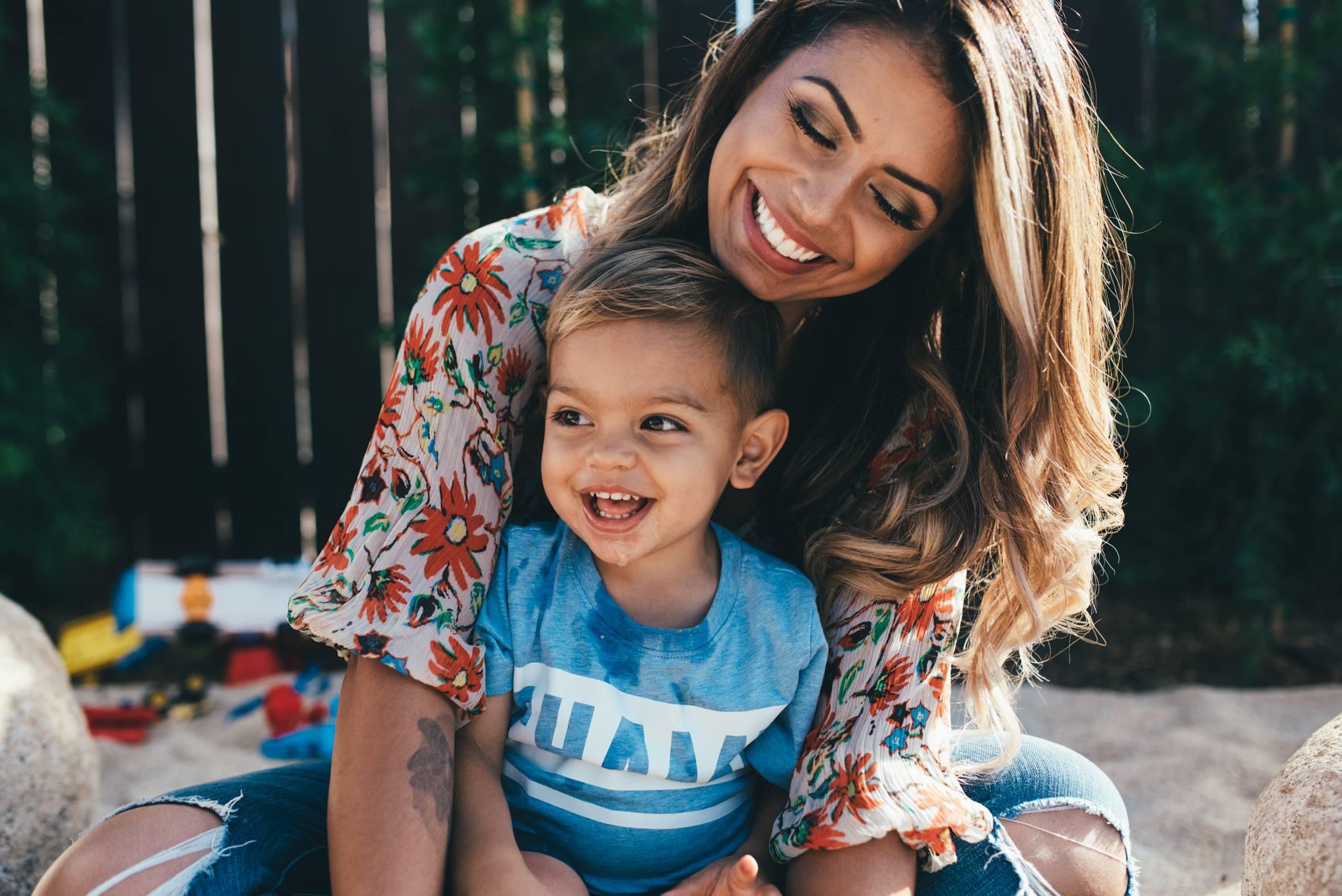 mother son connected family photography love posing amanda naor