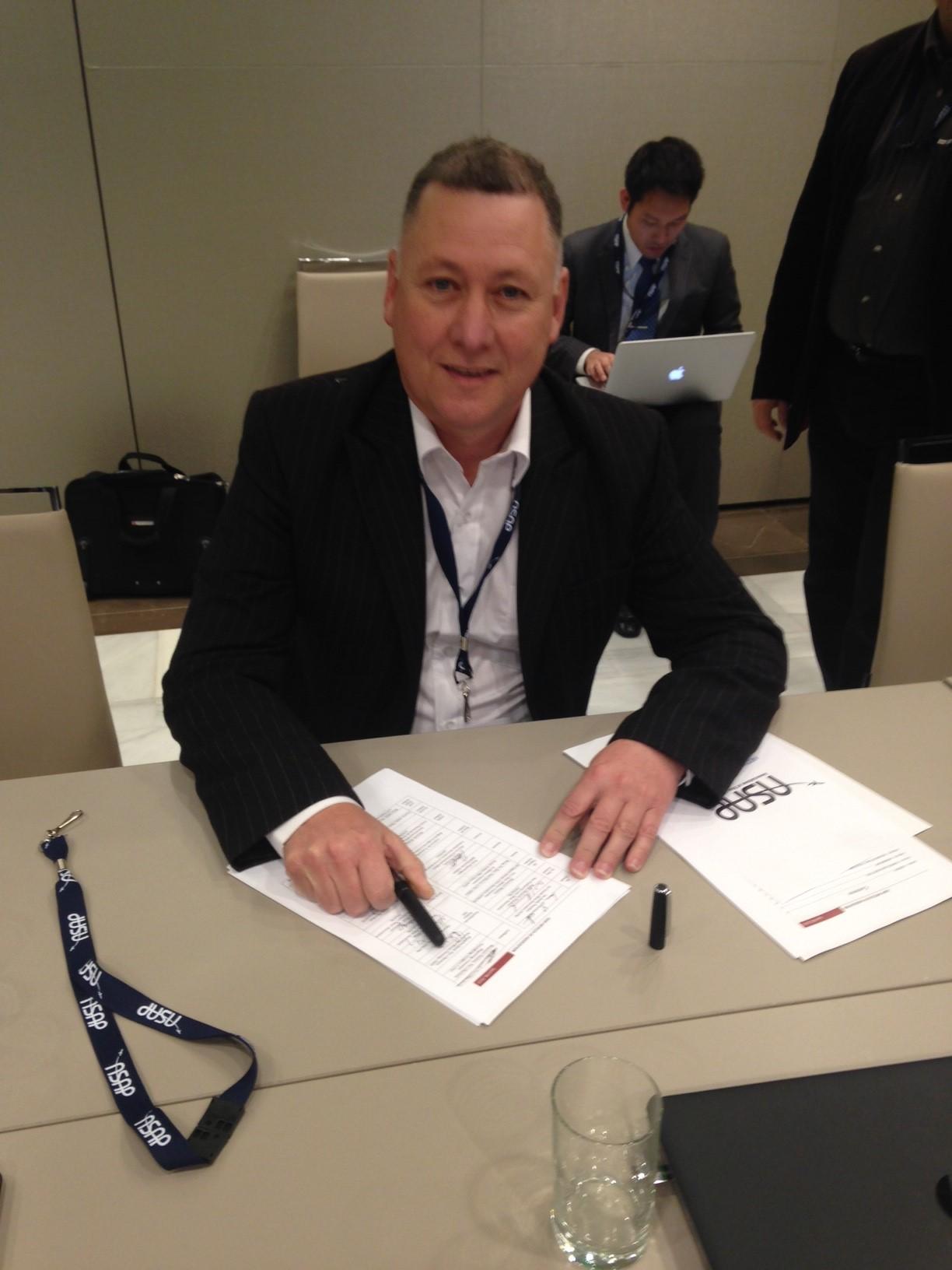 NZALPA President Wayne Renwick