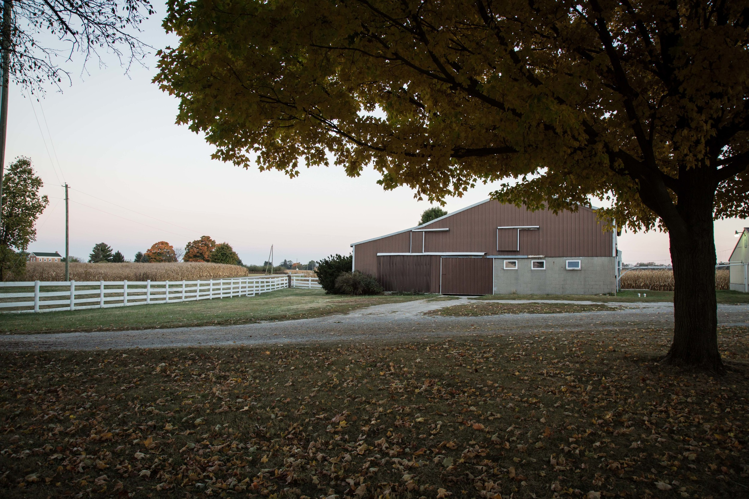 One of our family farms in Urbana, Ohio