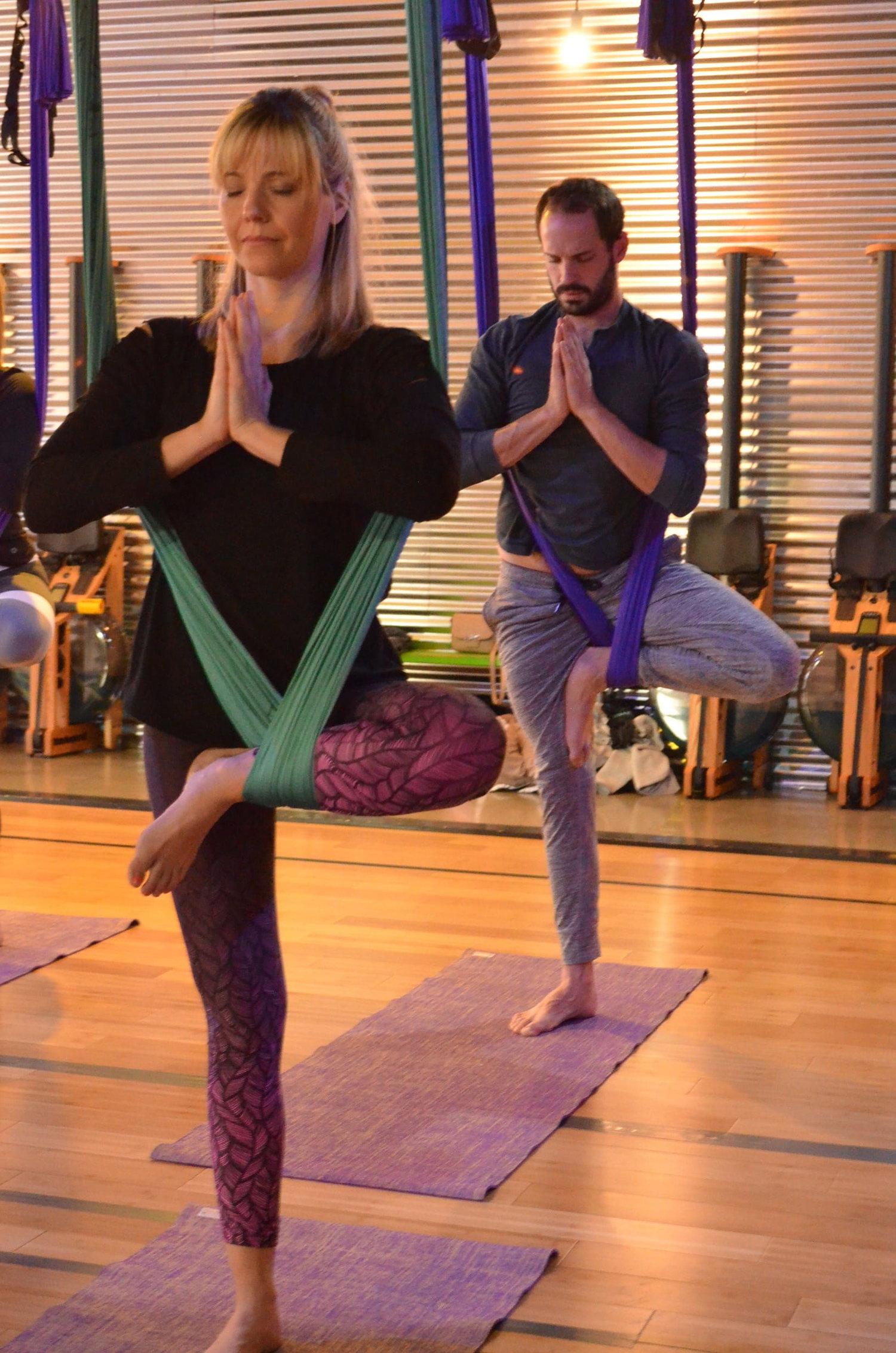 Swet Studio Aerial Yoga Rowing Fitness Studio Boston Ma