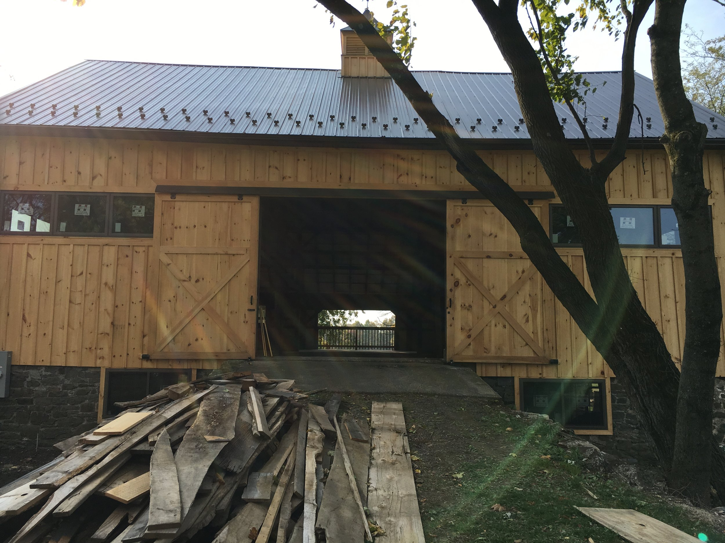 Picture of the Barn November 2016