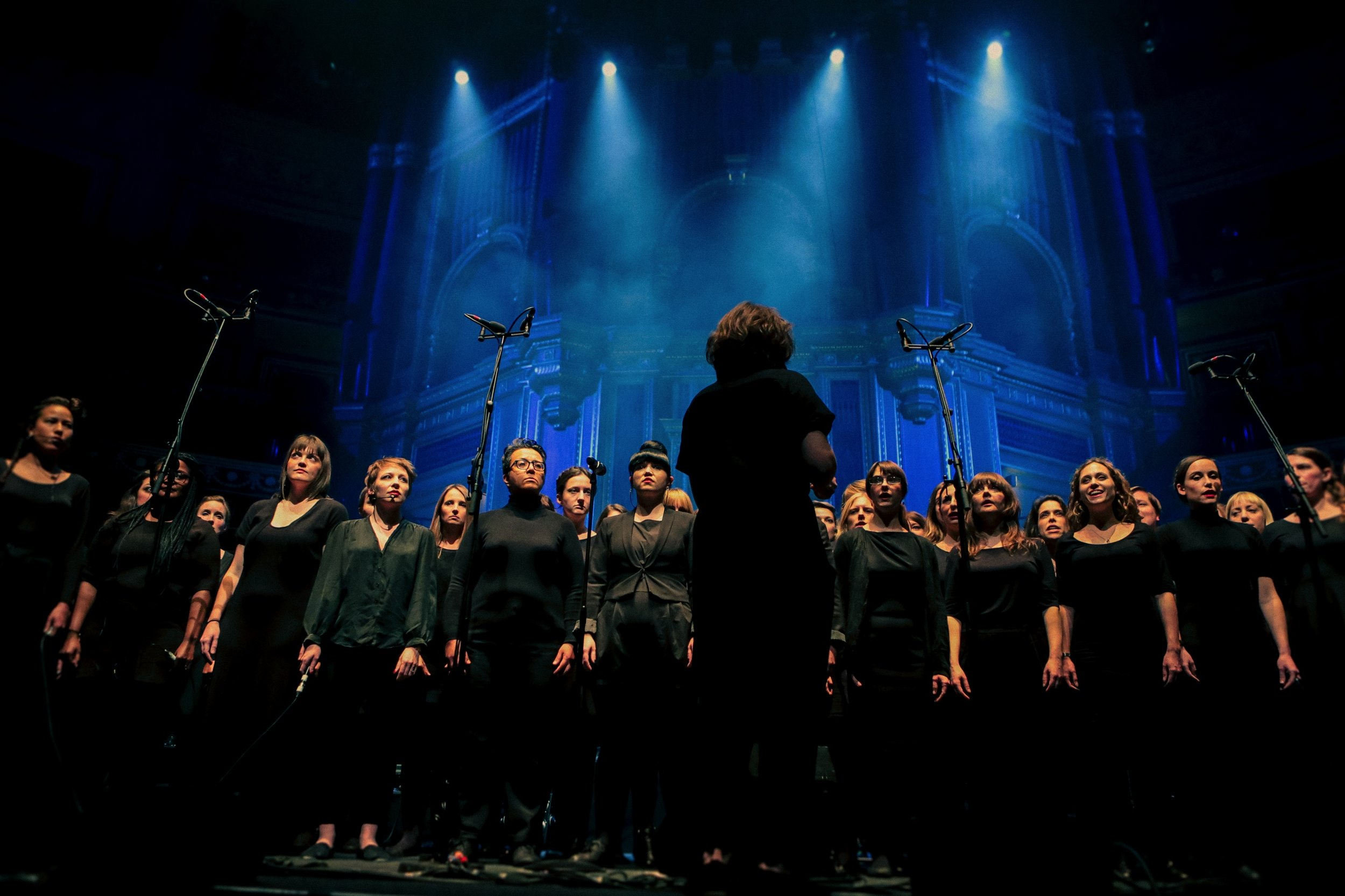 Lips Choir sing with Goldfrapp at The Royal Albert Hall