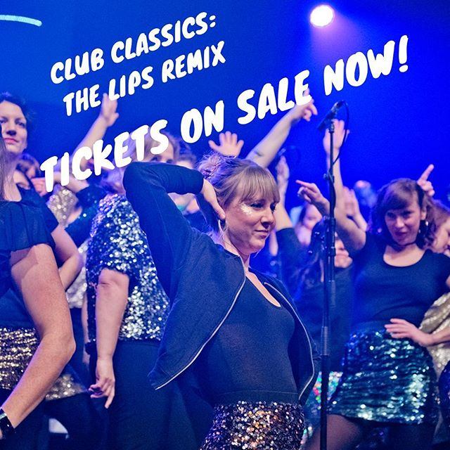 Lift your hands and voices, free your mind and join us! A night of ultimate club classics sung in sweet harmony awaits. 14 & 15 Nov, Clapham Grand. Buytickets.at/lipschoir 💃🕺