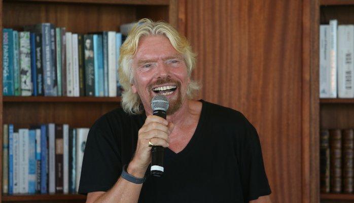 Richard Branson, Founder at Virgin Group