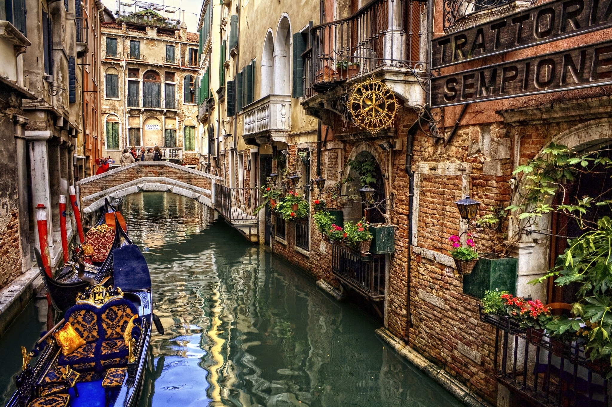 The romantic and magical Venice, Italy